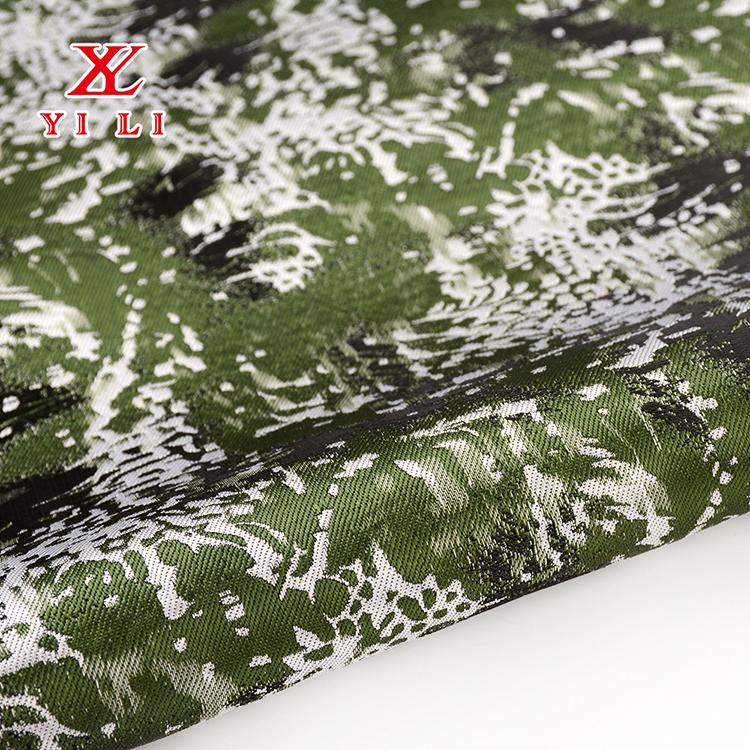 2020新款厂家直销 全涤梭织服装面料 色织提花布