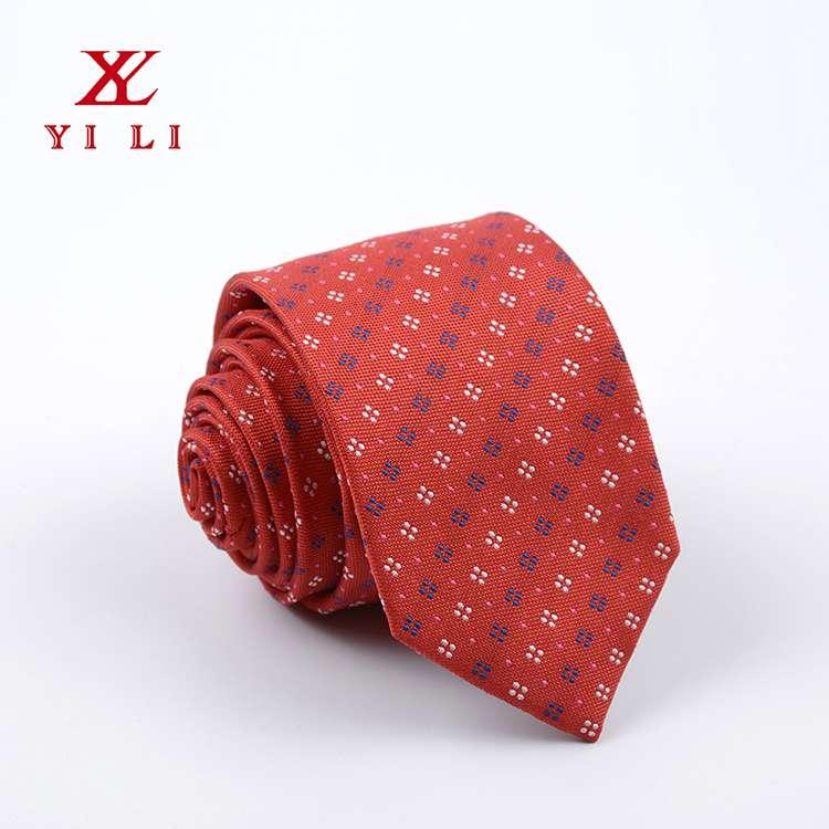 2020年新款色织提花男士条纹款休闲领带